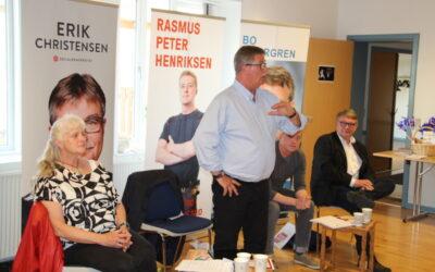 Gratis valgflæsk, debat og hygge