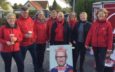 Socialdemokratiets 150 års jubilæum blev fejret i Veflinge